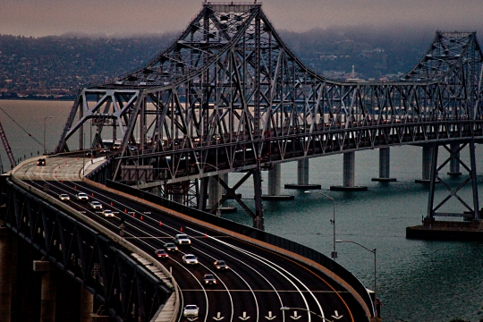 Oakland Bay Bridge S-curve