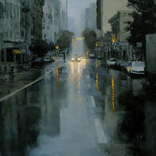 San Francisco painter Jeremy Mann