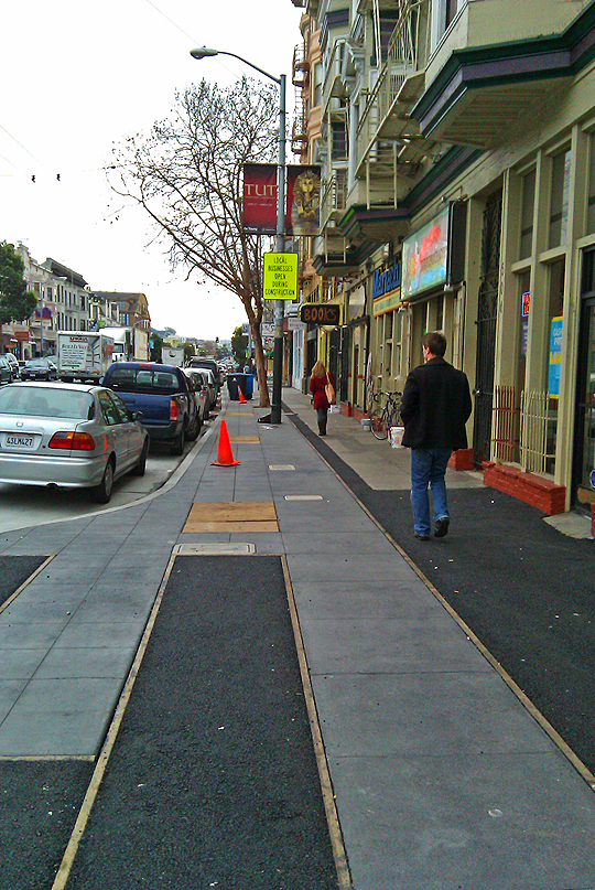 More Valencia Street Sidewalk Teasing, San Francisco