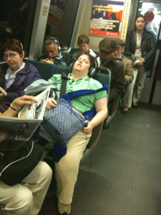 Ideal BART Passenger