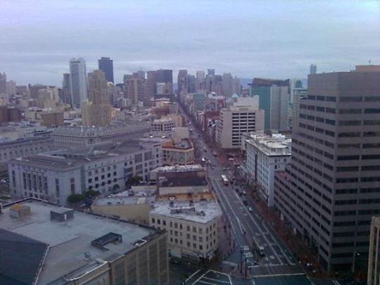 A View of the Rain, San Francisco