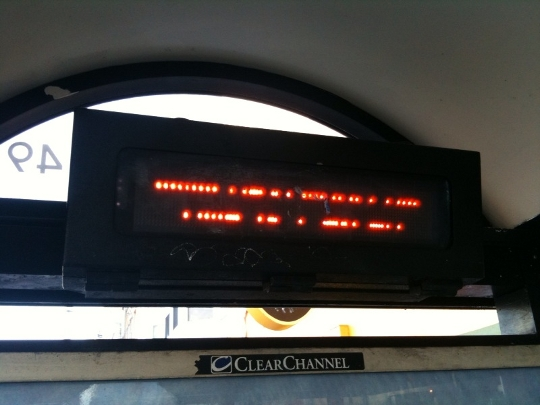 Hey MUNI, Maybe You Can Go Back to the Roman Alphabet?