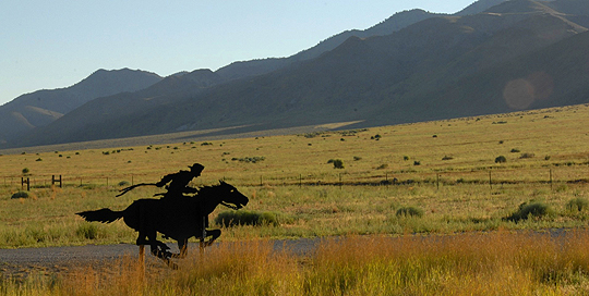 Pony Express Turns 150; photo by bikingantoine