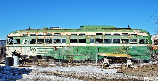 San Francisco Streetcars Rusting in Missouri