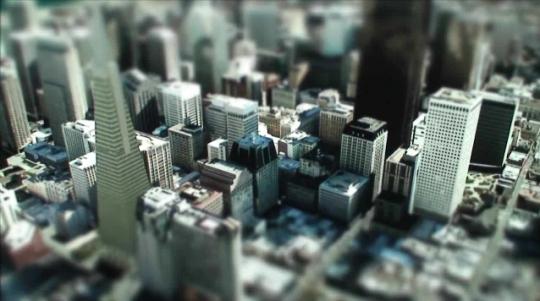 Google Earth Tilt Shift San Francisco