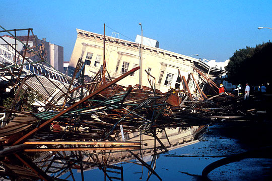 We are the First Responders in an Earthquake, San Francisco
