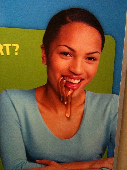 BART Ad Oozing, San Francisco