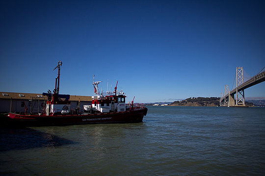 Fire Boat, San Francisco