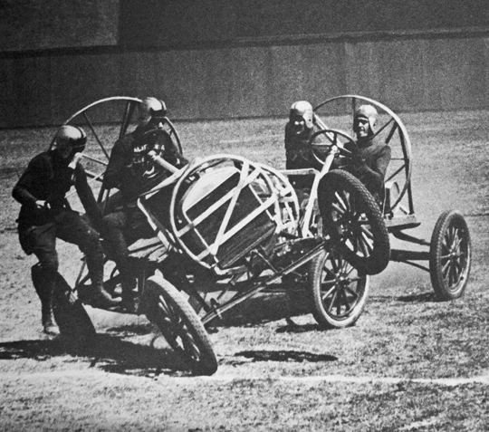 Auto polo, San Francisco; photo by Seymour Snaer