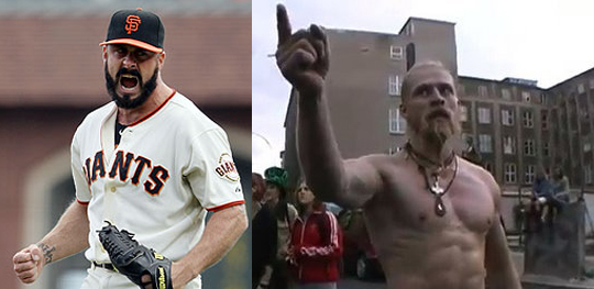 Brian Wilson is Techno Viking, San Francisco