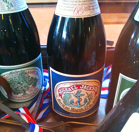 Anchor Steam, Michael Jackson, and Weed