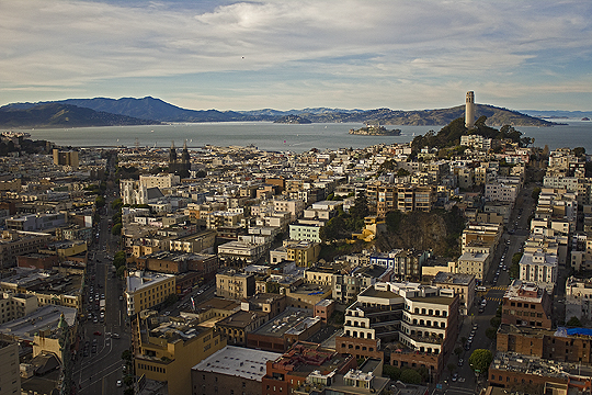 Columbus & Coit, San Francisco