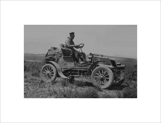Horatio Jackson invented the Great American Road Trip in San Francisco in 1903.
